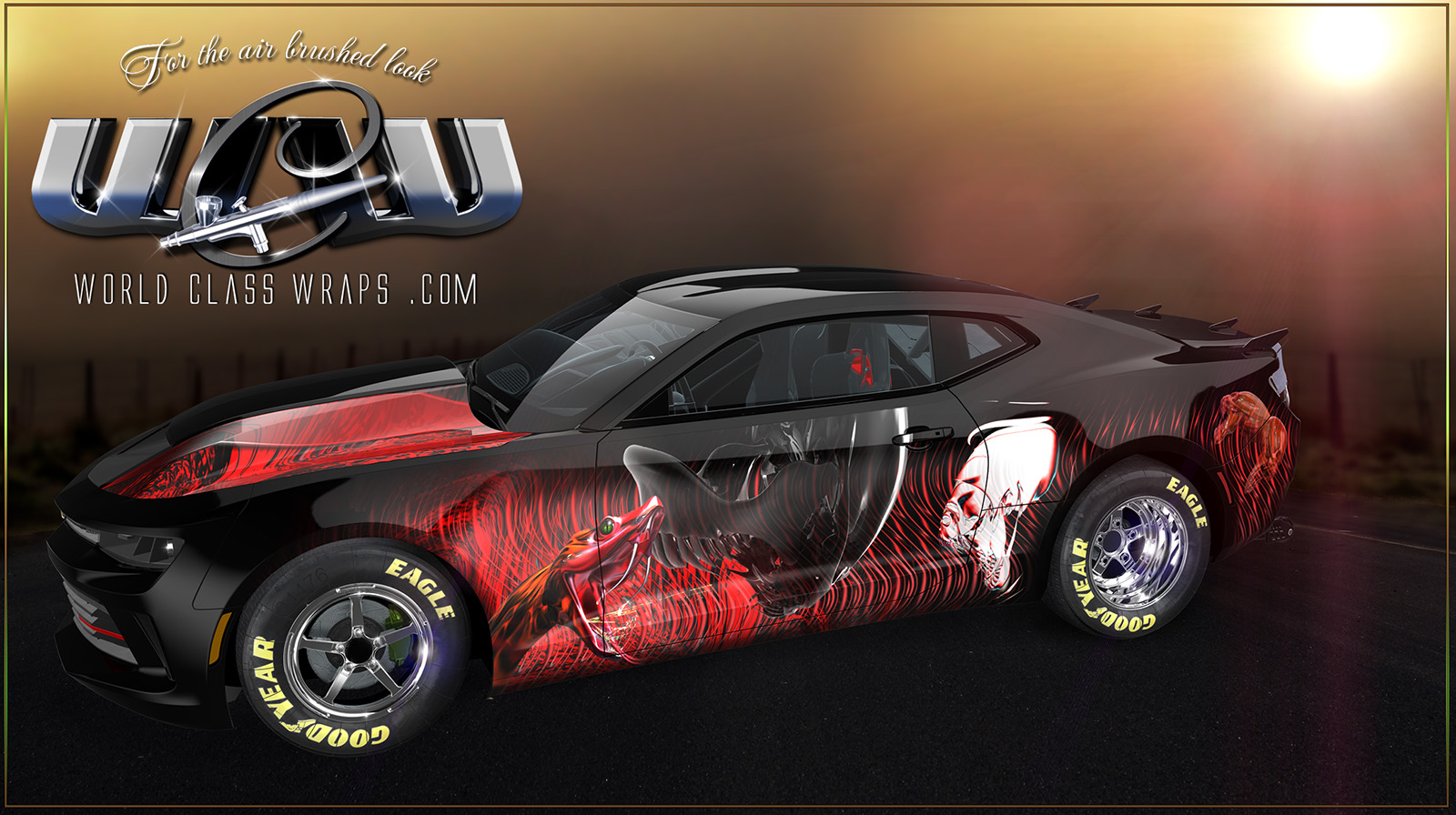 CUSTOM CAMARO GRAPHICS