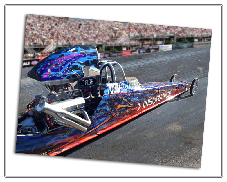 XINSURANCE GRAPHICS DRAGSTER