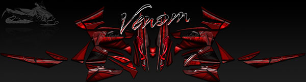VIPER VENOM RED GRAPHICS