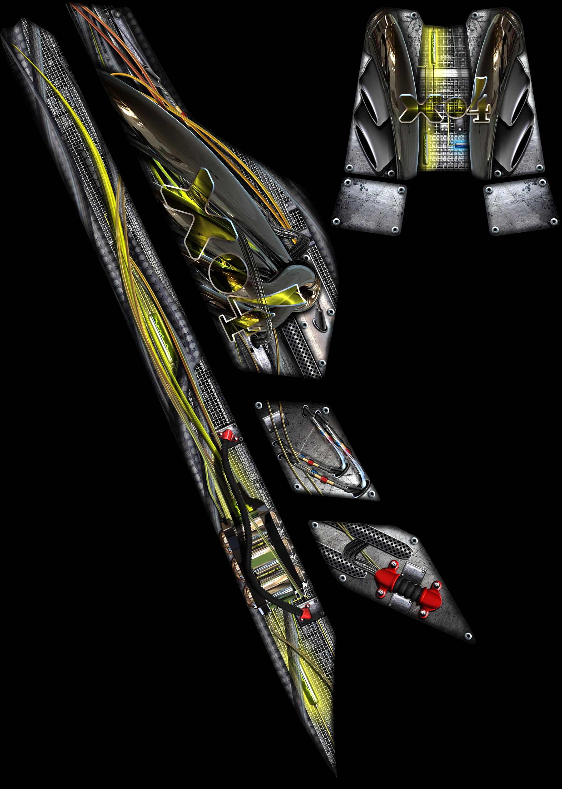 1996 Seadoo Xp >> Seadoo XP The 'XFORMER' design graphics.