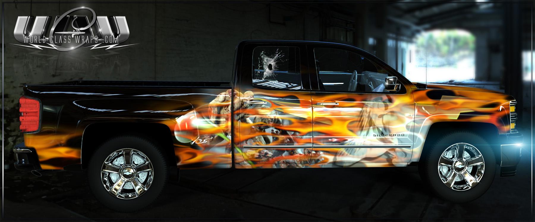 Truck Body Wrap