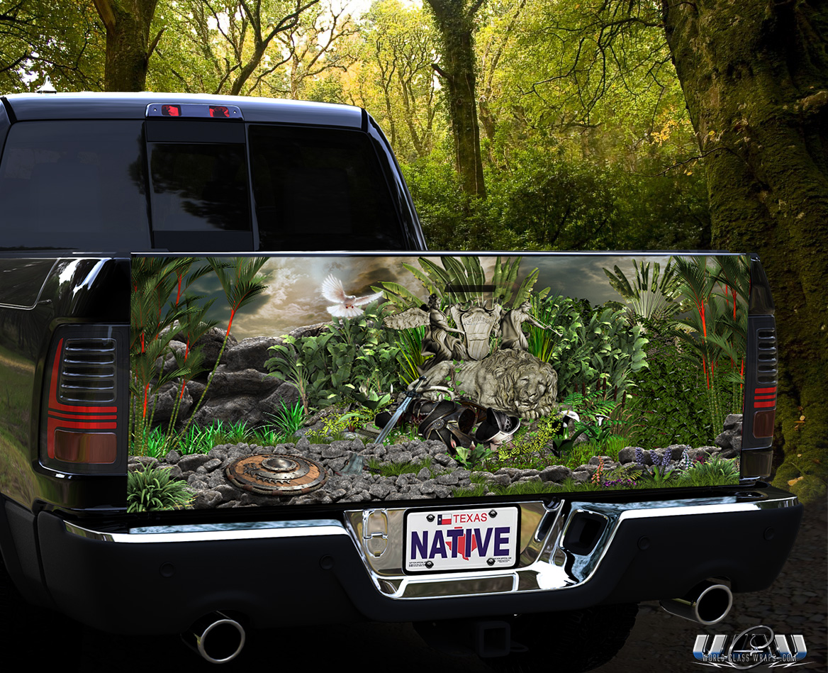 Truck Tailgate Gladiator Graphics