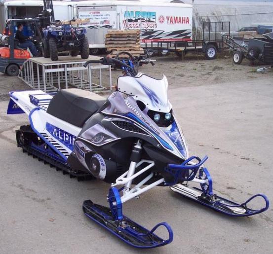 Yamaha Fx Nytro Sled