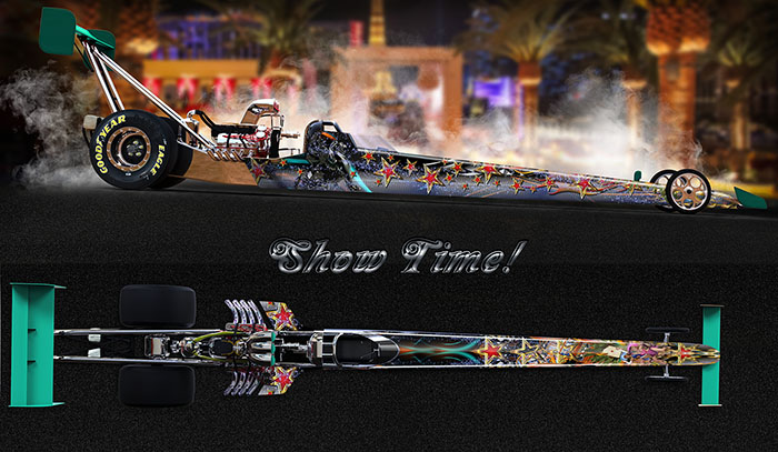 Showtime dragster graphics