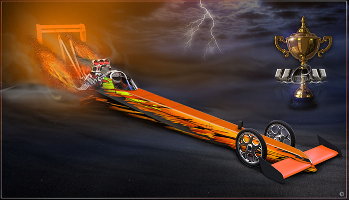 shredder dragster graphics package