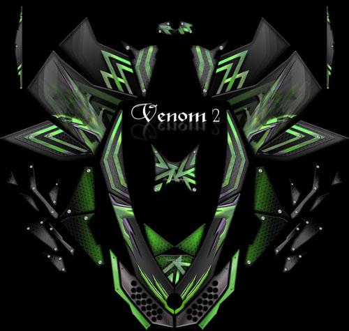 Venom Energy Logo Green Venom 2 greenVenom Energy Logo