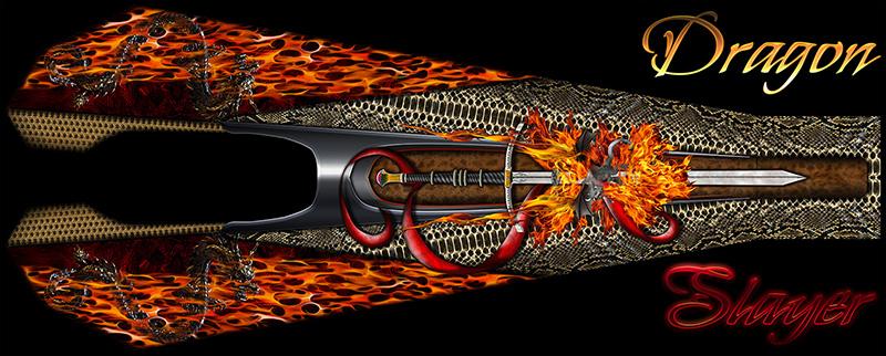 Jr Dragster Graphics Dragon Slayer Wraps