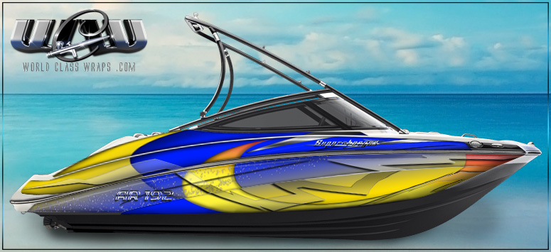 graphics for the Yamaha AR 192 boat