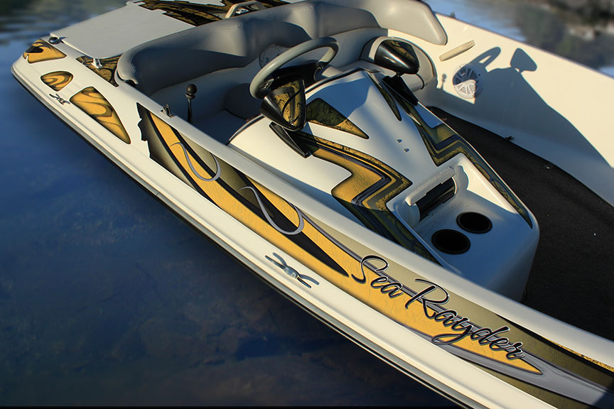 Boat Graphics Sport Ray For Sea Ray Rayder Ebay