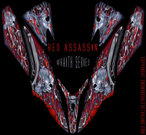 Apex wrap Red Assassin