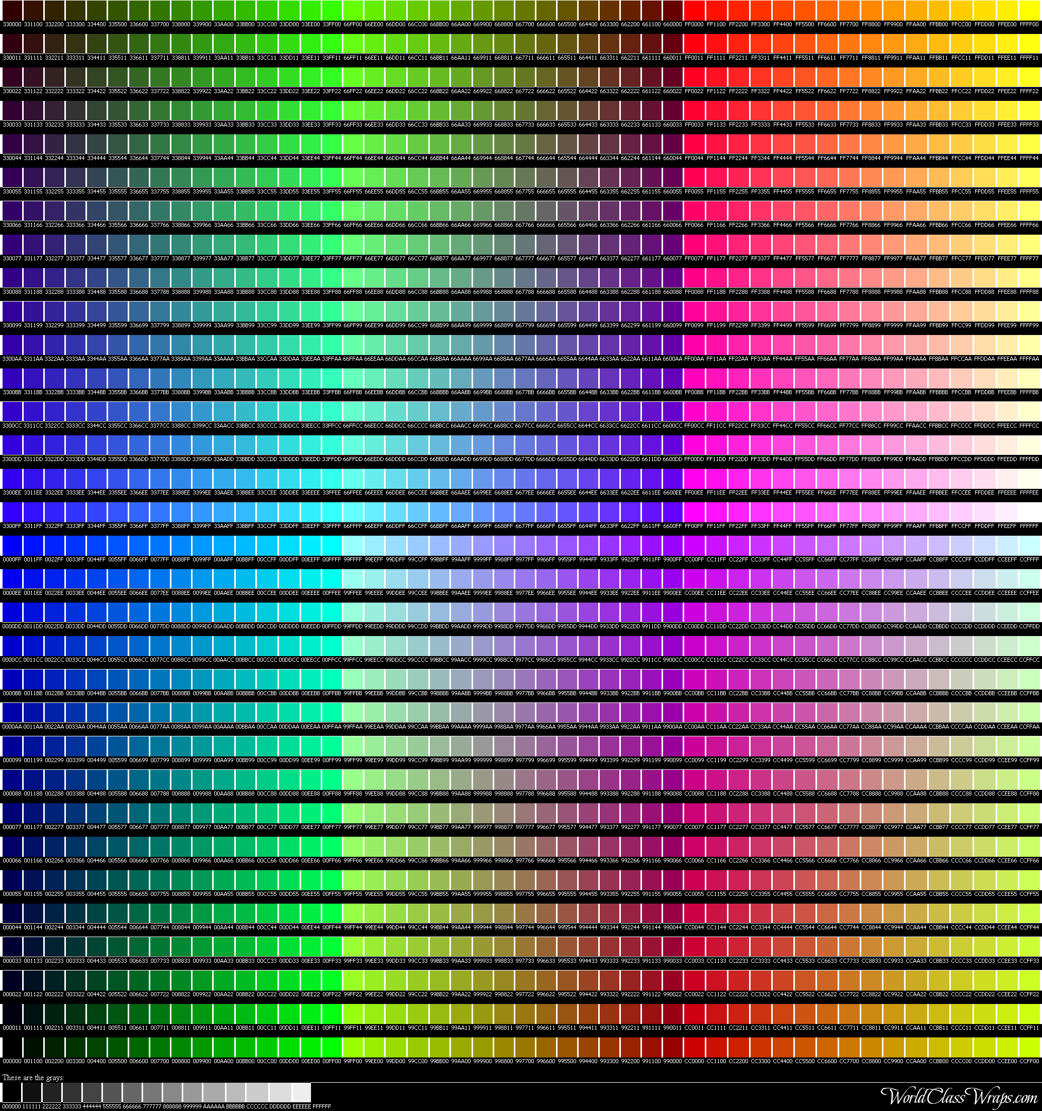 Colorchart3g geenschuldenfo Image collections